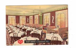 CHICAGO, Illinois, USA, GUEY SAM'S Chinese Restaurant, 1953 Linen Postcard - Chicago