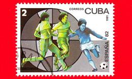 CUBA - Nuovo Obliterato - 1981 - Sport - FIFA - Mondiali Di Calcio 1982 - Spagna - World Cup - 2 - Neufs