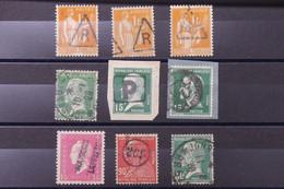 FRANCE - Lot De 9 Timbres ( Paix , Pasteurs Etc.. ) Avec Oblitérations à étudier - L 89083 - 1921-1960: Période Moderne