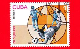 CUBA - Nuovo Obliterato - 1981 - Sport - FIFA - Mondiali Di Calcio 1982 - Spagna - World Cup - 1 - Neufs