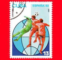 CUBA - Nuovo Obliterato - 1981 - Sport - FIFA - Mondiali Di Calcio 1982 - Spagna - World Cup - 13 - Neufs