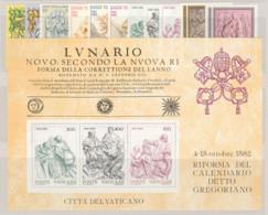 Vaticano 1982 Annata Completa/Complete Year MNH/** - Full Years