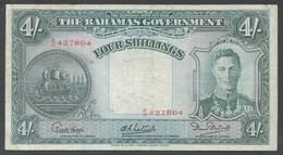 Ref. 7312-7819 - BIN BAHAMAS . 1936. BAHAMAS 4 SHILLINGS 1936 - Bahamas