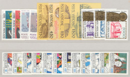 Vaticano 1984 Annata Completa/Complete Year MNH/** - Volledige Jaargang