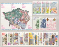 Vaticano 1986 Annata Completa/Complete Year MNH/** - Volledige Jaargang