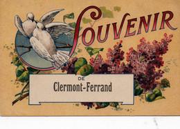 Carte Postale Ancienne - Circulé - Dép. 63 - CLERMONT FERRAND -  Souvenir De CLERMONT FERRAND - Clermont Ferrand
