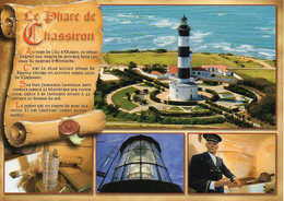 17 L'île D'Oléron - Le Phare De Chassiron, Multi Vues - TBE - Ile D'Oléron