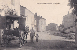 POUILLY LES NONAINS                       PETITE RUE. VOITURE DU BOULANGER - Other Municipalities
