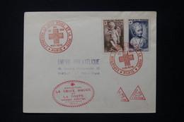 FRANCE - Enveloppe FDC En 1950 - Croix Rouge - L 89094 - 1950-1959