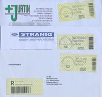 Oostenrijk 3 Brieven Met Automaatzegels (715) - 1991-00 Cartas