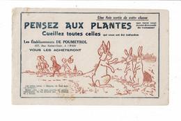 Buvard DE POUMEYROL Pensez Aux Plantes Lapins Benjamin Rabier - Drogerie & Apotheke