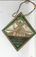 F12 /  étiquette Spéciale VIN DOPFF SPECIAL VIN D'ALSACE Moulin  Au Moulin RIQUEWIHR - Sin Clasificación