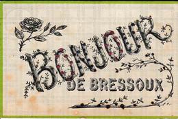 Bonjour De Bressoux Carte à Paillettes - Liege