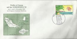 Wallis Et Futuna Brief Tv Nordposta '84 (719) - Covers & Documents