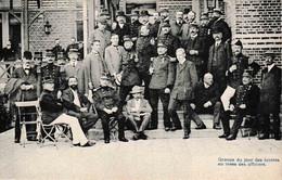 Brasschaat Groupe D'invités Au Mess Des Officiers. Militaires Et Civils - Brasschaat