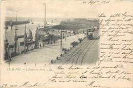 CPA 76 Seine Maritime Le Havre L'Entrée Du Port Précurseur - Non Classificati