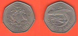 Barbados 1 Dollar 1989 - Barbados