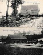 Louvain Le Cataclysme Berthem 14 Mai 1906 2 Cartes - Leuven
