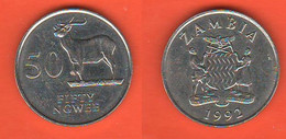Zambia 50 Fifty Ngwee 1992 - Zambia