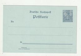 """Deutsches Reich - Ca. 1905 - Privatpostkarte """"2 Pfg. Germania"""" Mit Rs. Zudruck """"Feuerwehr Freiburg"""" ** (0542) - Entiers Postaux"""