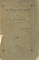 1891. UN PLIEGO DE CARTAS (envuelta Fatigada E Incluso Deteriorada, Como La Inmensa Mayoría De Ejemplares Conocidos, Ide - Zonder Classificatie