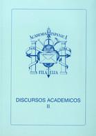 1991. Conjunto De Seis Libros DISCURSOS DE FILATELIA (Tomos II, III, IV, V, VI Y VIII). Academia Hispánica De Filatelia. - Unclassified