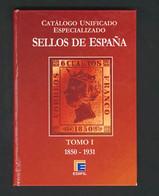 1996. Conjunto De Cuatro CATALOGOS UNIFICADOS ESPECIALIZADOS DE ESPAÑA: Tomo I (1850-1931), Tomo II (1931-1950), Tomo V  - Zonder Classificatie