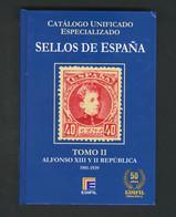 2015. CATALOGO UNIFICADO ESPECIALIZADO SELLOS DE ESPAÑA: Tomo II (Alfonso XIII Y República) Y Tomo III (Estado Español), - Zonder Classificatie