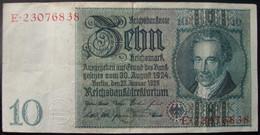 Billet 10 Reichsmark 1924 - 10 Mark