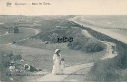Wenduyne - Dans Les Dunes 1911 - Wenduine