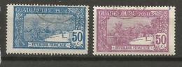 Timbre De Colonies Française Guadeloupe Oblitéré N 85 / 86 - Used Stamps