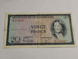 Luxembourg, 20 Francs Charlotte - Luxembourg