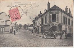 MAINTENON -  Perspective De La Route De Paris Vue Prise Carrefour Larue  PRIX FIXE - Maintenon