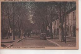 VILLEFORT - Avenue Du Bosquet Colorisée - Villefort
