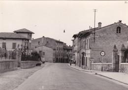 STAGGIA SENESE - POGGIBONSI - SIENA - VIA ROMANA - CARTELLO INGRESSO AL PAESE - APPUNTI E DATA 1956 AL RETRO - Siena