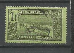 Timbre De Colonies Française Guadeloupe Oblitéré N 69 - Used Stamps