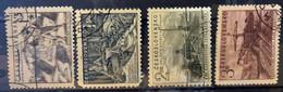 CZECHOSLOVAKIA - (0)  - 1952 -  # 757/760 - Used Stamps