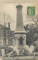 Jarjeau     Monument Guerre 1870-71 - Jargeau