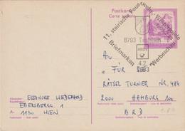 Austria Postal Stationary Trolajach 1983 11. Steirische Feuerwehr-Winterspiele (G119-83) - Firemen