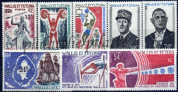 -Wallis & Futuna Année Complète 1971 - Full Years