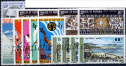 -Wallis & Futuna Année Complète 1975 - Full Years