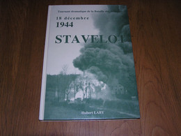 18 DECEMBRE 1944 STAVELOT Guerre 40 45 Bataille Ardenne Peiper Trois Pont Tiger Aviation USAAF US Army Amblève Lodomez - Guerra 1939-45