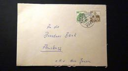 Germany - 1977/80 - Mi:DE-BE 534DI,615D On Envelope - Look Scan - Cartas