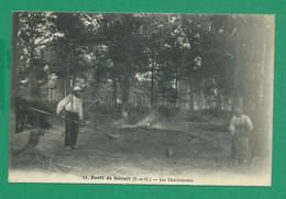 CPA ESSONNE 445/404  - BRUNOY, Forêt De Sénart, Les Charbonniers - Brunoy