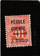 T.F.Sociaux-Postaux..Timbres-Epargne N°6 Neuf - Steuermarken