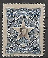 SALVADOR 1911 CENTENARIO DELL'INSURREZIONE DEL 1811 YVERT. 355 MLH VF - El Salvador