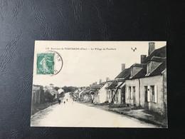 113 - Environs De TORTERON (Cher) Le Village De Feuillard - 1923 Timbrée - Sonstige Gemeinden