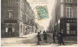 Indre LE BLANC RUE DE LA REPUBLIQUE - Le Blanc