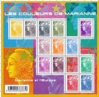 F 4409 (2009) Neuf Bloc Marianne Et L'Europe - Ungebraucht