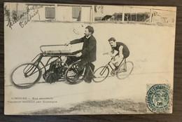 FRANCE - 87 - LIMOGES. CYCLISME. VIGNERON ENTRAÎNE DUSSAGNE. - Limoges